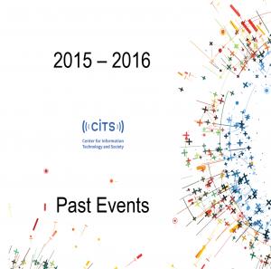 CITS 2015-2016 Event Calendar